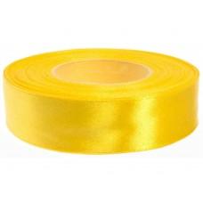 Zonnig Geel Satijn Lint 25 mm