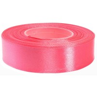 Candy Roze Satijn Lint 25 mm