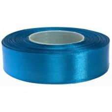Vaal Blauw Satijn Lint 25 mm
