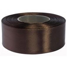 Chocolade Bruin Satijn Lint 38 MM