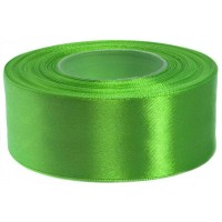 Helder Groen Satijn Lint 38 MM