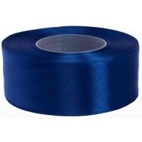 Inktblauw Satijn Lint 38 MM