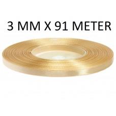 Lint Cappuccino 3 MM X 91 Meter