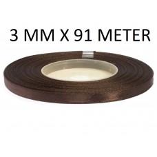 Lint Chocolade Bruin 3 MM X 91 Meter