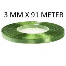 Lint Kaki Rot Groen 3 MM X 50 Meter