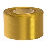 Goud Satijn Lint 50 mm