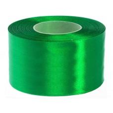 Gras Groen Satijn Lint 5 cm