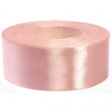 Donker Poeder Roze Satijn Lint 5 cm
