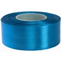 Vaal Blauw Satijn Lint 5 cm