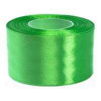 Helder Groen Satijn Lint 50 MM Rol 32 Meter