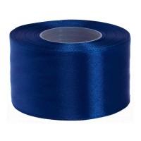 Inktblauw Satijn Lint 50 mm