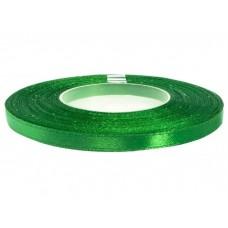 Satijn Lint Gras Groen 6 MM X 25 Meter