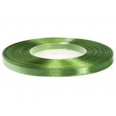 Satijn Lint Kaki Rot Groen 6 MM X 25 Meter