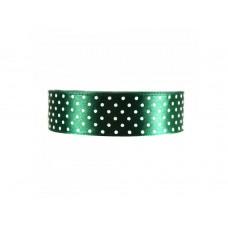 Polka Dot Lint Flessen Groen 25 MM