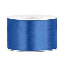 Koning Blauw Satijn Lint 38 mm