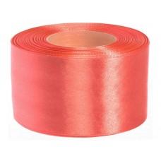 Licht Koraal Roze Satijn Lint 38 mm