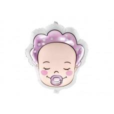 Ballon Baby Meisje Kleur 40 X 45 Cm