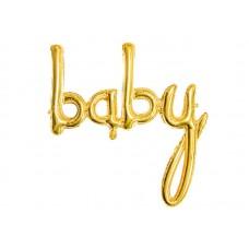 Ballon  Baby Goud, 73.5 x 75.5cm