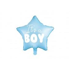 Pastel Blauwe Ballon It's a Boy