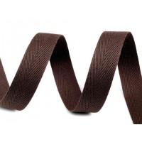 Keperband Donker Bruin 16 MM