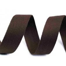 Keperband Donker Bruin 20 MM