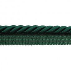 Paspelband  Donker Groen 5 MM X 20 Meter
