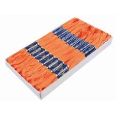 Cadmium Oranje Borduurgaren 6 Strengen X 8 Meter