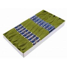 Borduurgaren 6 Strengen X 8 Meter Pikant Groen