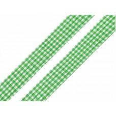 Ruitjes Lint Groen 18 MM X 45 Meter