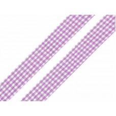 Ruitjes Lint Violet Lila 18 MM X 45 Meter