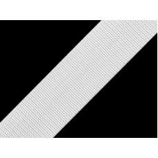 Wit band 30 mm voor tassen en rugzakken