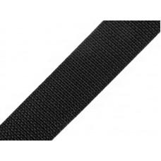 Tassenband Zwart 30 MM