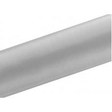 Satijn Stof op Rol Zilver 36 cm. Breed, 9 Meter per Rol