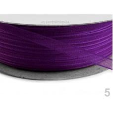 Chiffon Lint 3 mm Helder Violet