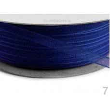Chiffon Lint 3 mm Imperial Blauw