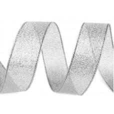Glitter Lint Zilver 16 mm