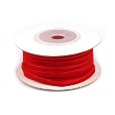 Fluweel Lint Rood 3 mm