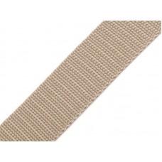 Tassenband beige 20 mm