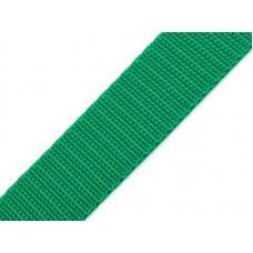Tassenband emerald groen 20 mm