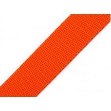 Tassenband oranje 20 mm