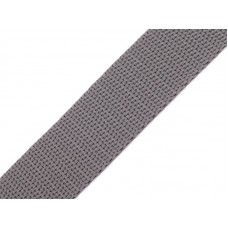 Tassenband parelgrijs 20 mm