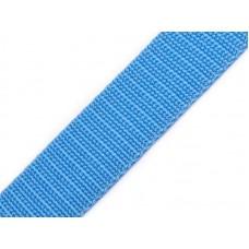 Tassenband rijkelijk blauw 20 mm