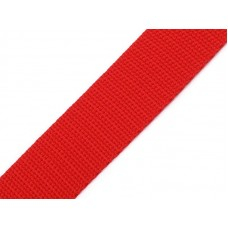 Tassenband rood 20 mm