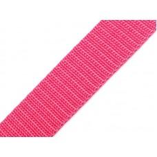 Tassenband roze 20 mm