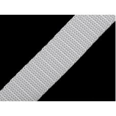 Tassenband wit 20 mm