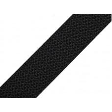 Tassenband zwart 20 mm