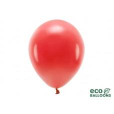 Rode ballon 30 cm.