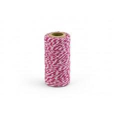 Bakkerstouw Donker Roze