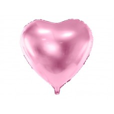 Grote Licht Roze Hart Ballon