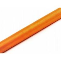 Oranje Organza Stof op Rol 0,36 x 9 meter